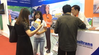 ABA Cooltrans participated in the Vietfish Seafood Ehibition 2017