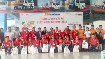 """Isusu Vân Nam phối hợp cùng ABA Cooltrans tổ chức chương trình """"Tập huấn lái xe an toàn, tiết kiệm nhiên liệu"""""""